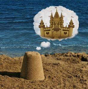 Visual Perception Sand castle